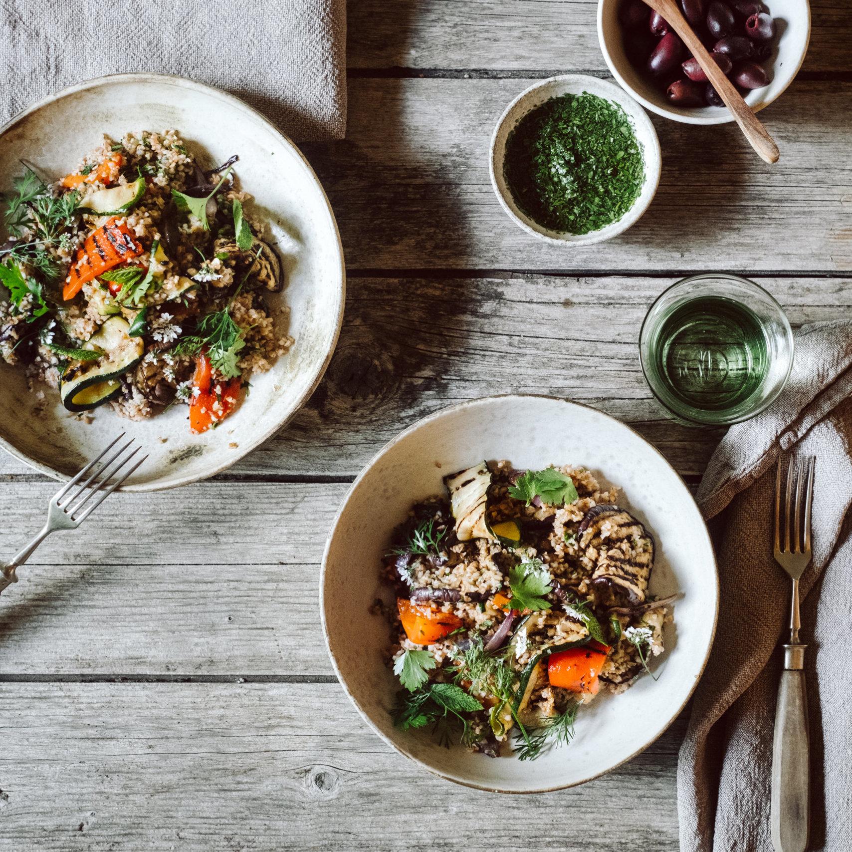 Blogger-Rezept: Grillgemüse-Bulgur-Salat